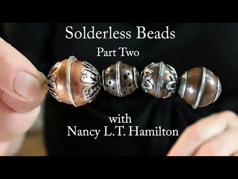 ▶ Making a Solderless Bead: Part Two | Jewelry Tips with Nancy - YouTube
