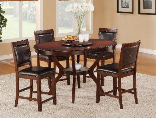 Brownstown Oval Counter Height Table Dining Room SetsDining TableWholesale FurnitureBuy
