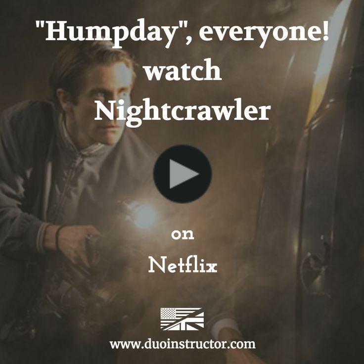 """Para este """"Humpday"""" (mitad de semana). Te recomendamos que practiques inglés con este excelente Thriller """"NIGHTCRAWLER"""" protagonizado por el retorcido carisma de jake Gyllenhaal. Recuerda que es mitad de semana y jueves y viernes pasan volando. Reproduce la peli desde Netflix y recuerda: """"idioma inglés y subtítulos en inglés"""" #humpday #practiceEnglish #twistedCharisma #esl #JakeGyllenhaal #nightcrawler #thriller #aprendeInglés #engishTheRightWay https://www.netflix.com/title/70295182"""