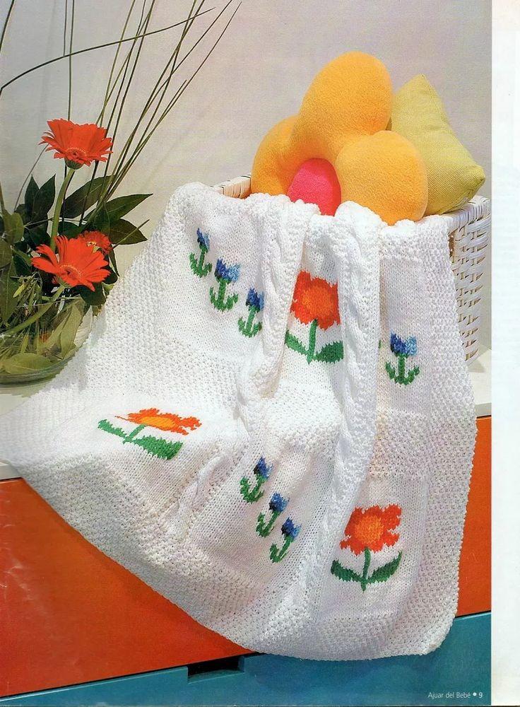 77 best ajuar tejidos bebe images on Pinterest | Crochet baby, Baby ...