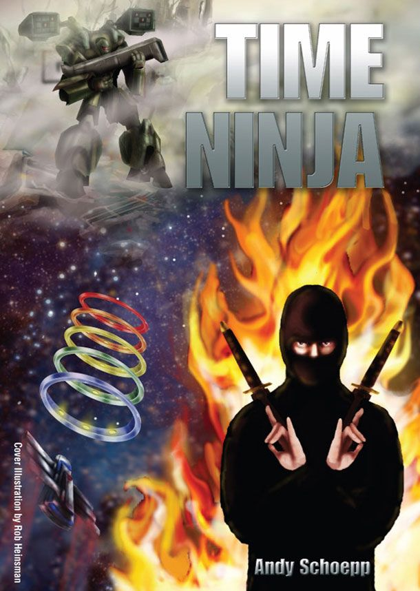 Although the cover reflects the genre and narrative of the book, it feels very congested and the quality of the illustrations seems unrefined. The typeface chosen for the cover seems forced, seeming awkwardly placed amongst the clatter of the illustrative background. Eliminating the ninja and fire with possibly focusing on one main point of the narrative would greatly improve the design concept.