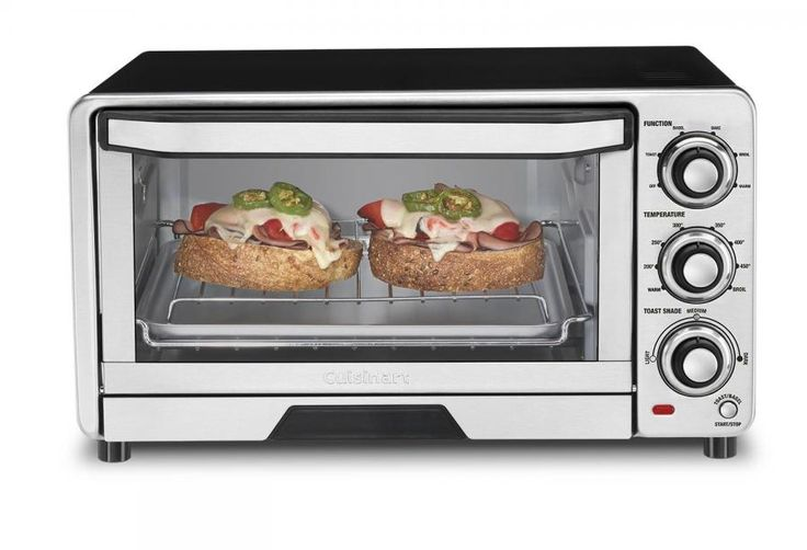 TOB-40 - Custom Classic™ Toaster Oven Broiler - Toaster Oven Broilers - Products - Cuisinart.com