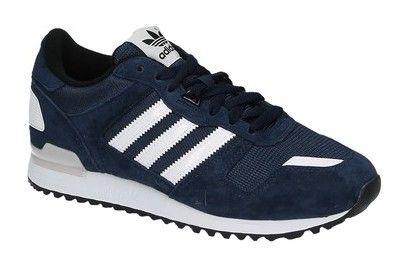 Adidas ZX 700 blauwe lage sneakers