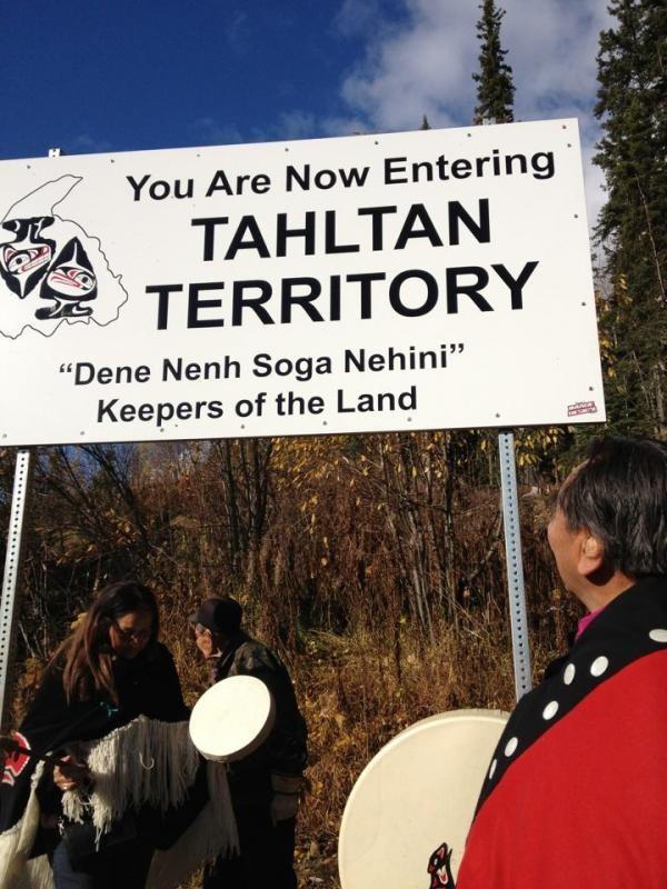 Tahltan Sign Ceremony