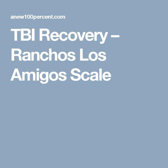 TBI Recovery – Ranchos Los Amigos Scale