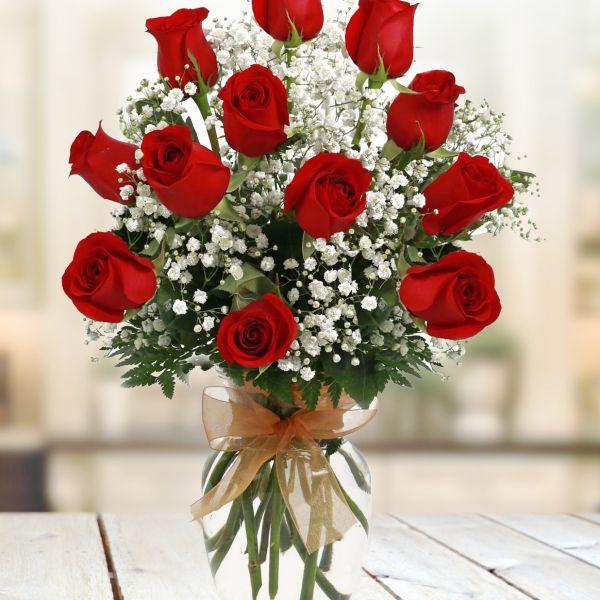 Valentine's DayValentines-Two-Dozen-Roses - Flowerama Columbus - Columbus Florist - Same Day Flower Delivery