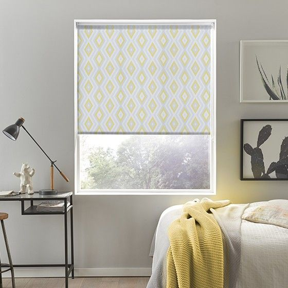 Great Dazzle Yellow Roller Blind