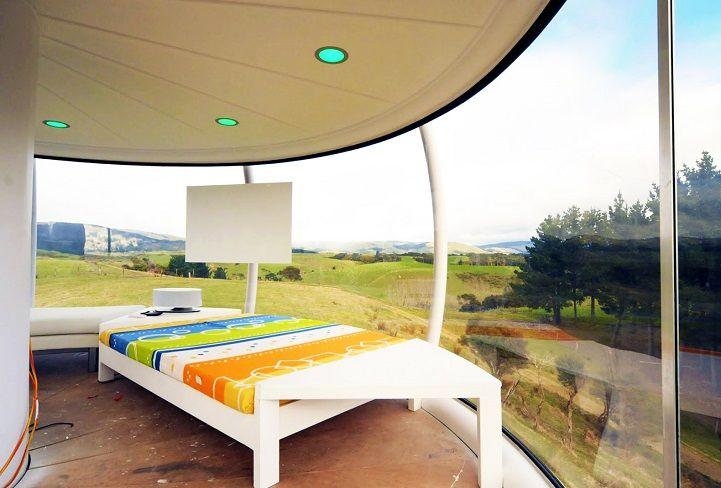 Die besten 25+ Futuristisches Schlafzimmer Ideen auf Pinterest - futuristische buro einrichtung mit metall 3d wandpaneelen