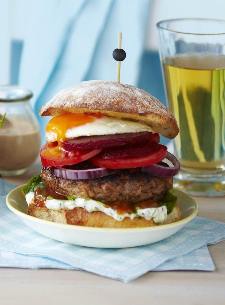Chelsea Winter's take on the classic Kiwi burger – perfect for the barbecue.