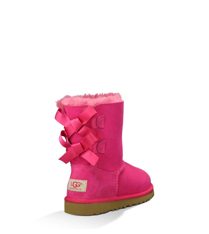Shop UGG® Collection of girls' sheepskin boots including the Bailey Bow. Free Shipping & Free Returns on Authentic UGG® sheepskin boots for toddler girls at UGG.com.