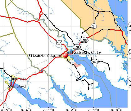 Elizabeth City, North Carolina (NC 27909) profile: population ...