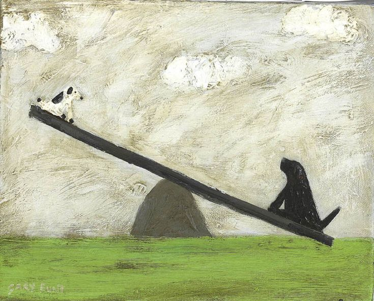 GARY BUNT A See With No Saw ~~It's five o'clock And I've been stuck up here Since twenty minutes to three I don't know how I will ever get down Because that dog's fatter than me