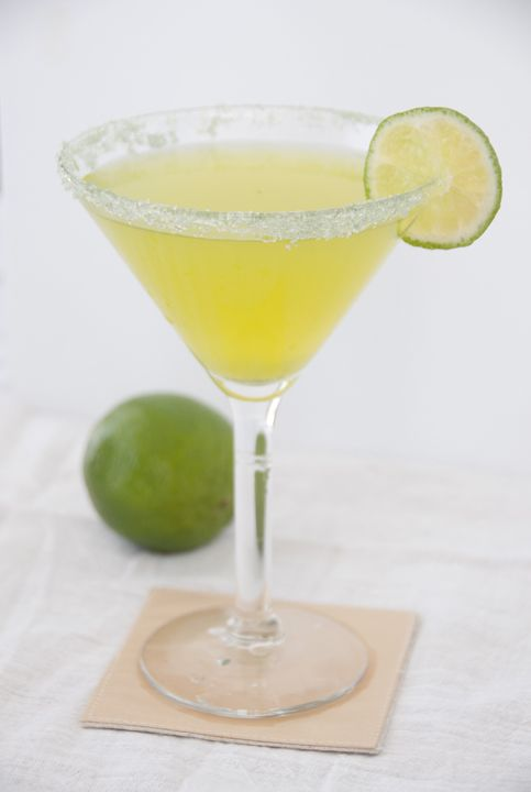 Key Lime Martini | Wishes and Dishes