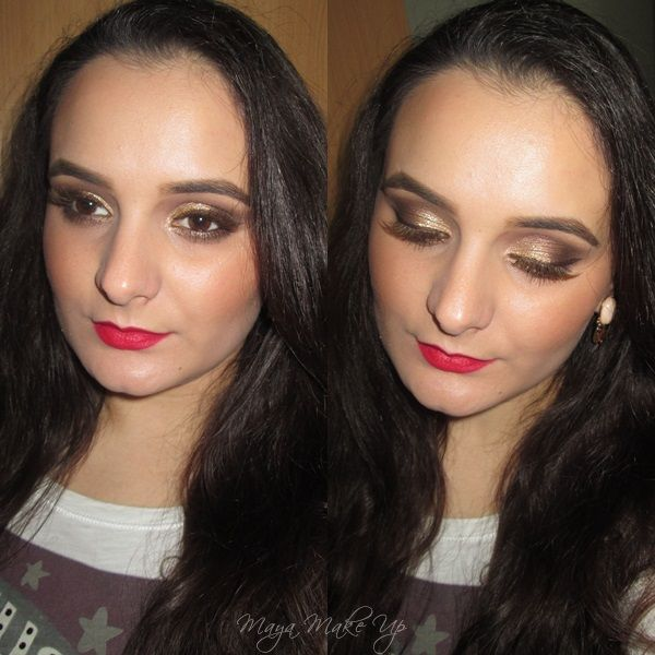 Holiday Make Up Tutorial #1: Neutrals & Red Lips