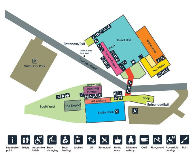 Museum map - Plan a visit - National Railway Museum