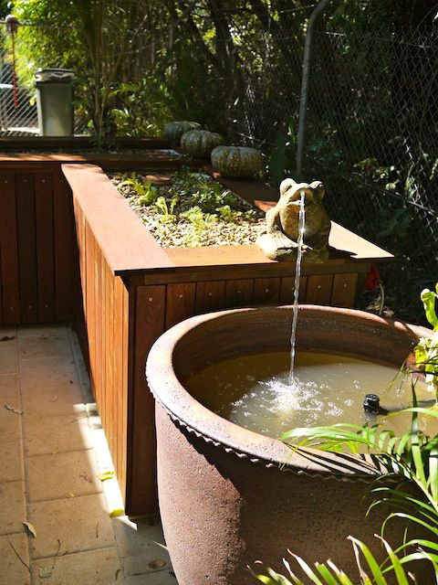 Gorgeous aquaponics orangeri pinterest a well for Garden pool aquaponics