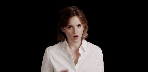 Emma Watson joins the Red Nose Day 2016 gif