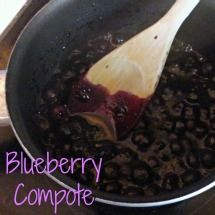 Blueberry Compote Recipe for Perfect Blueberry Pancakes | The PinterTest Kitchen