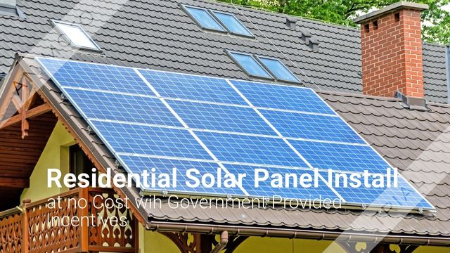 Image result for Zero down solar panels