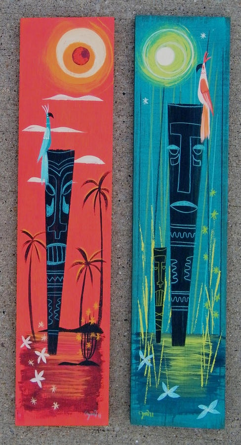 Tiki Pair - site's down, when I get time I should GIS these.