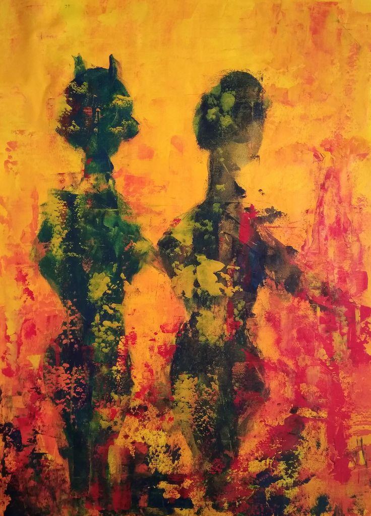 Sen, Sen Değilsin / You Are Not Who You Are Tuval üzerine #Akrilik / #AcryliconCanvas 72cm x 100cm 3.500₺ / 1.000$   #gallerymak #sanat #resim #soyut #sergi #iksv #artistanbul #tablo #pınarakbaba #gununfotografi #artlovers #artlife #worldofart #contemporaryart #artgallery #abstractpainting #abstractart #modernart #artcollector #fineart #instaart #artbasel #painter #artofvisuals #painting #acrylicpainting