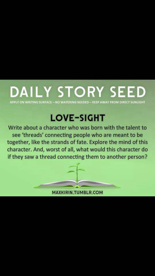 Daily Story Seed : Love-Sight