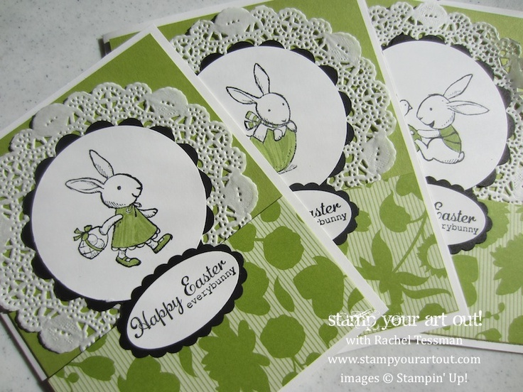 Everybunny Easter Cards: Stamp Your Art Out!