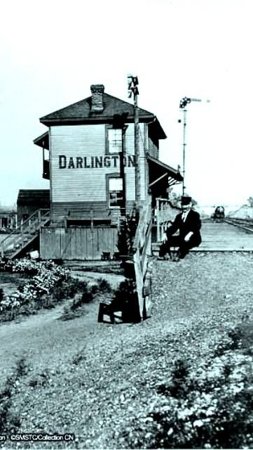 DARLINGTON , Ontario - Grand Trunk Railway station