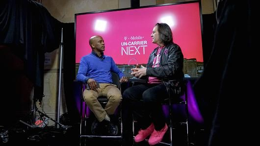 How's this for authenticity: T-Mobile USA CEO John Legere has no qualms about dropping an 'F'-bomb right in the middle of a press conference.He's been taunting his rivals on Twitter long before that became the new standard in diplomacy. http://www.cnbc.com/2017/01/22/how-t-mobile-usa-ceo-john-legere-is-changing-the-ceo-game.html