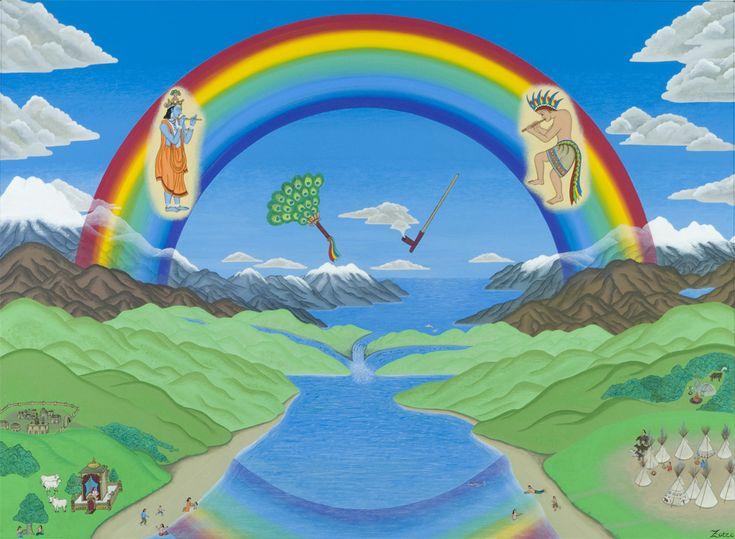 "Bridge Of Dreams - painting by Peter ""Zotec"" Newman - www.artzotec.com"