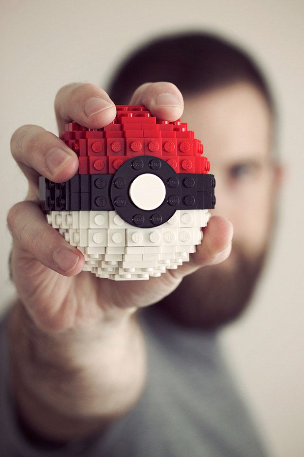 He can make anything out of LEGO bricks.