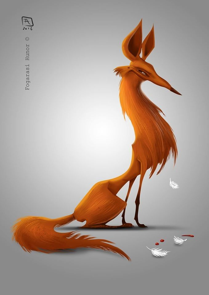 Fox, Hunor Fogarasi on ArtStation at https://www.artstation.com/artwork/Qo6r3