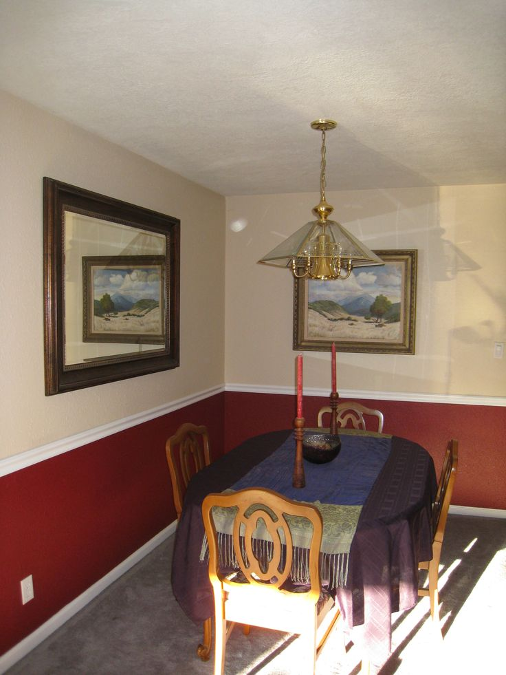 17 best images about chair rail on pinterest paint colors dining room paint and my life. Black Bedroom Furniture Sets. Home Design Ideas