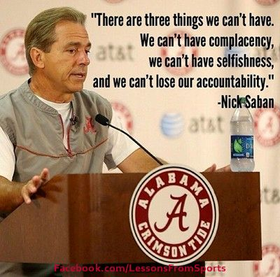 nick saban images | Nick Saban Quotes