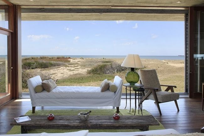 the amazing and peaceful hotel during our stay in Jose Ignacio, Uruguay