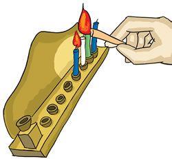 Lighting the Menorah - Menorah Lighting Guide - Chanukah - Hanukkah