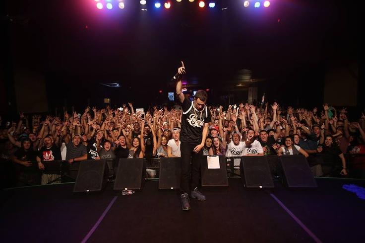 Indie rapper Logic bringing down the house at TLA, Philadelphia! #hiphop