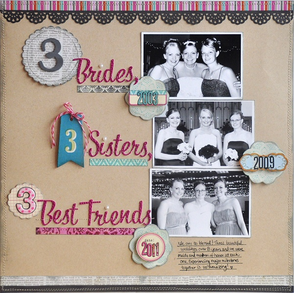 3 Brides Sisters Best Friends Lily Bee