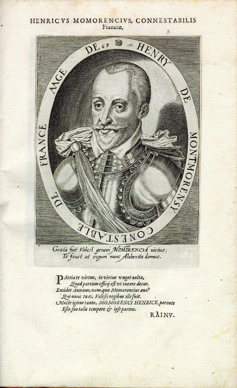 Henri, Graf von Damville, Herzog von Montmorency (1534-1614), Marschall