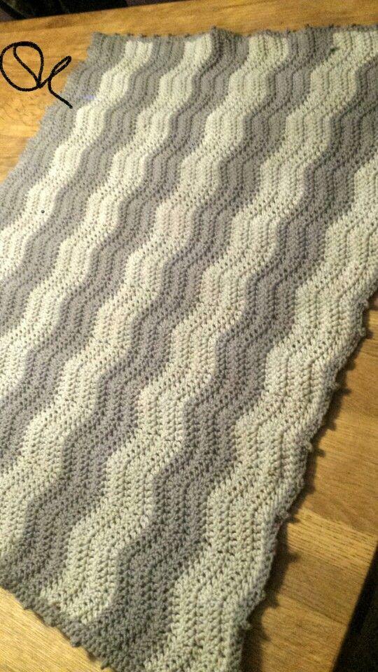 Baby blanket - waves