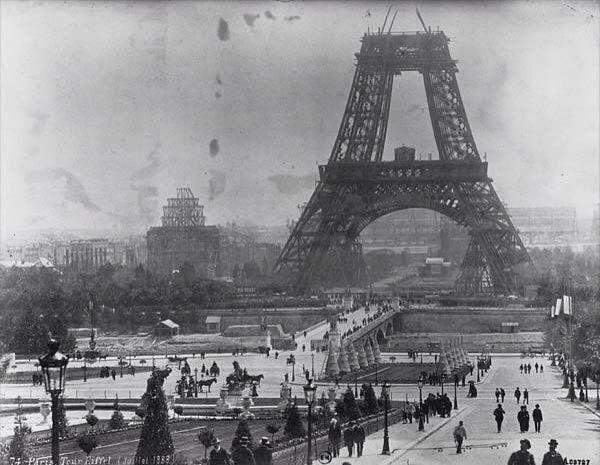 Construccion Torre Eiffel