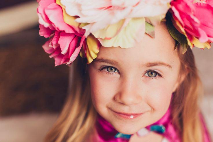 Girl ready for spring