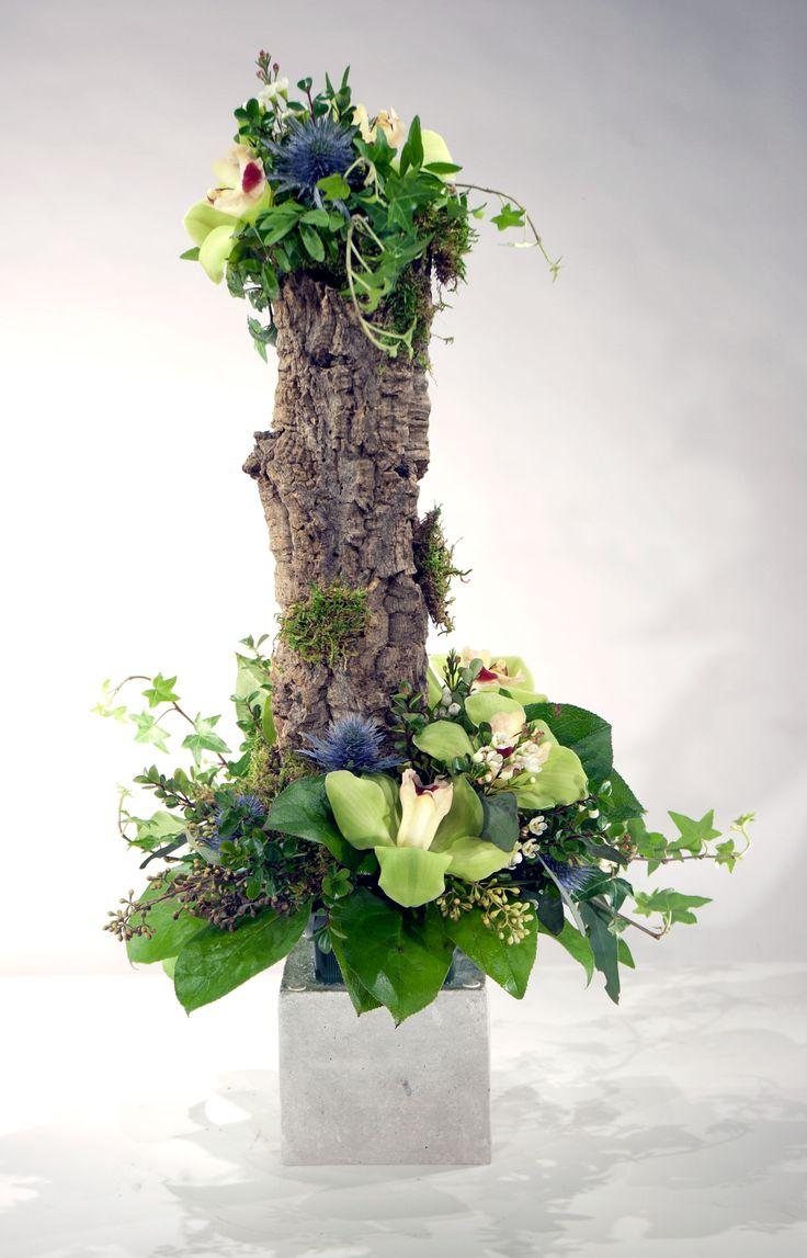 Custom design using cork tree bark