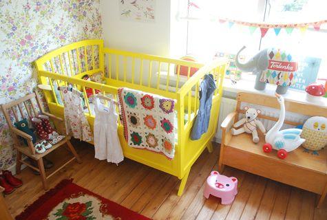 Ninainvorm's  daughter Rosa's nursery