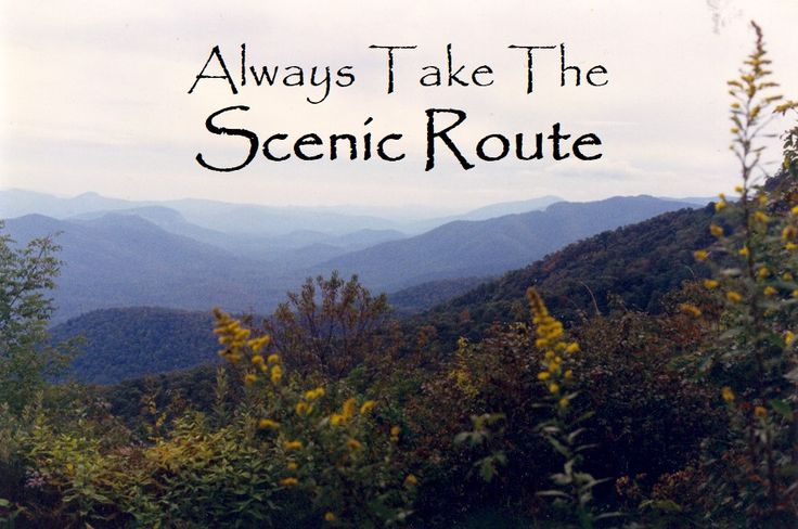 The beautiful mountains in Asheville, NC. #mountainspringscabins #rvcoutdoors #glamping #scenicroute