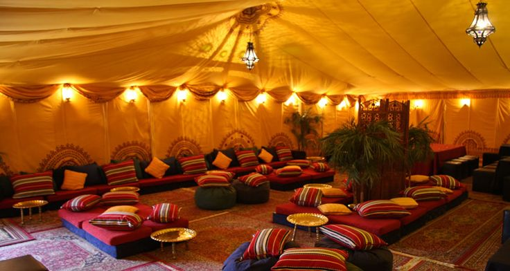 Bedouin, Moroccan Tents | Marquee Decoration and Hire - Oasis Events