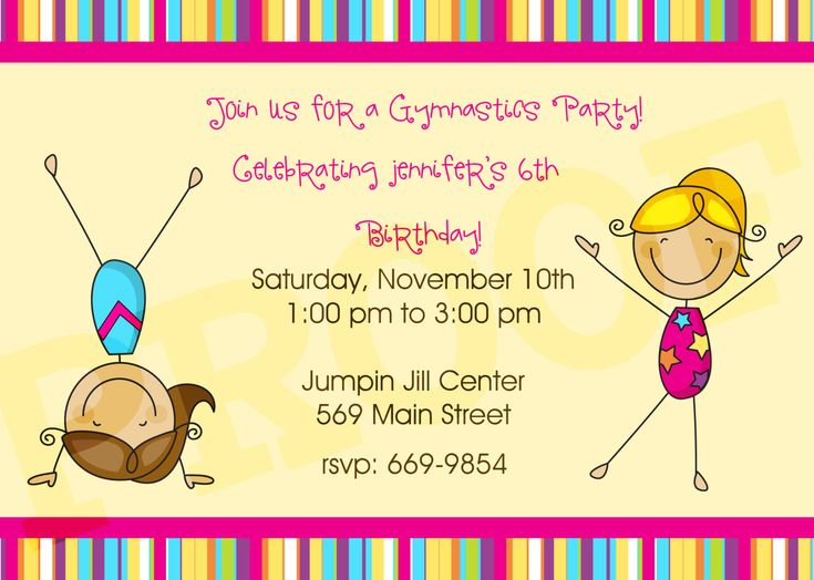 21 best Grace Party ideas images on Pinterest Birthday party ideas - best of invitation wording for gymnastics party