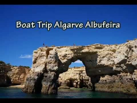 Boat Trip Albufeira Algarve Visit the Caves - YouTube