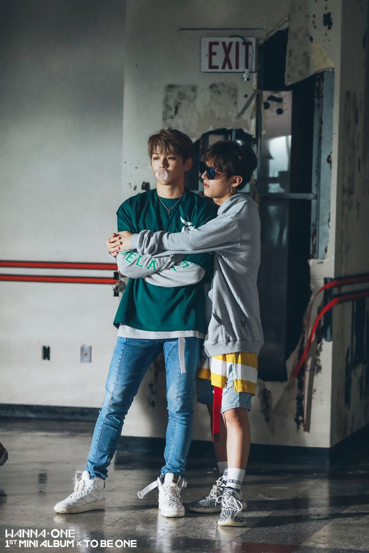 Wanna One 윤지성 (Yoon Jisung) 강다니엘 (Kang Daniel)