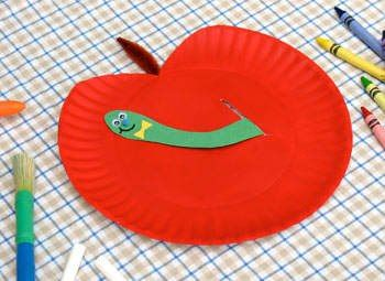 apple craft ideas for kids (5)